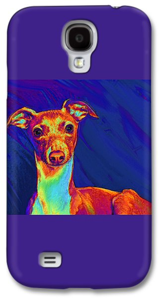 Italian Greyhound  Galaxy S4 Case by Jane Schnetlage