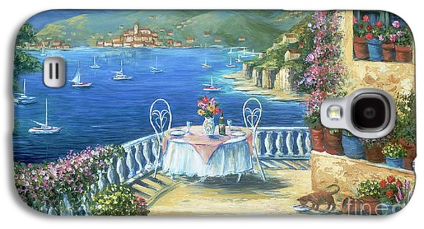 Italian Lunch On The Terrace Galaxy S4 Case by Marilyn Dunlap
