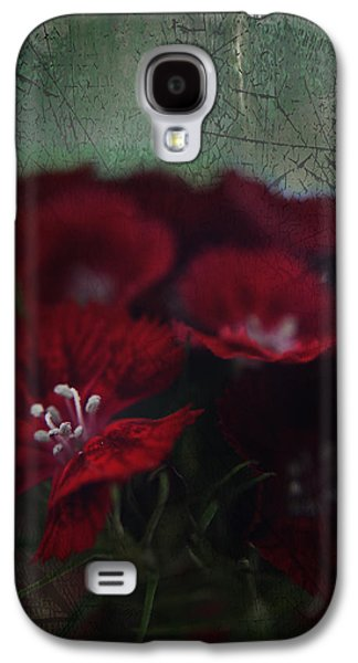 Texture Floral Galaxy S4 Cases - Its a Heartache Galaxy S4 Case by Laurie Search