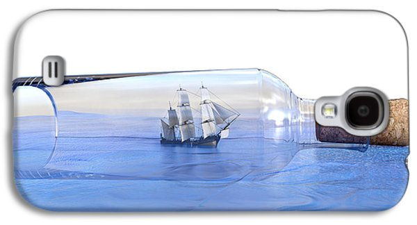 It's A Small World Afterall Galaxy S4 Case by Betsy Knapp