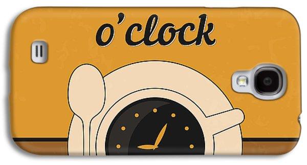 It's Coffee O'clock Galaxy S4 Case by Naxart Studio