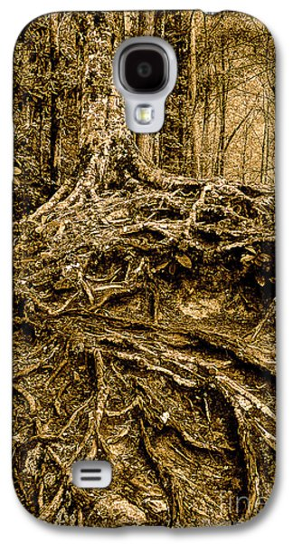 Tree Roots Photographs Galaxy S4 Cases - Its Complicated Galaxy S4 Case by Michael Eingle
