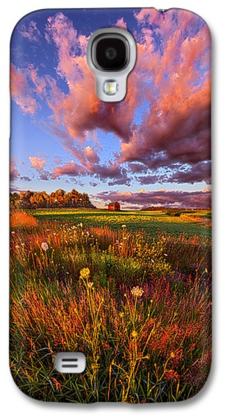 Green Galaxy S4 Cases - Its Like Going to Heaven with Your Feet Still on the Ground Galaxy S4 Case by Phil Koch