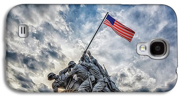 Iwo Jima Memorial Galaxy S4 Case by Susan Candelario