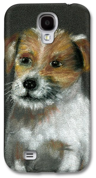 Dogs Pastels Galaxy S4 Cases - Jack Galaxy S4 Case by Arline Wagner