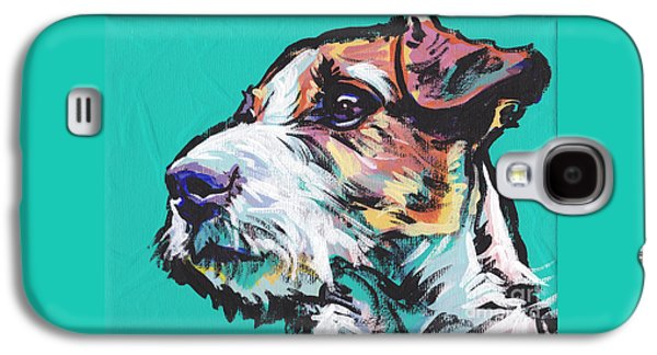 Puppies Galaxy S4 Cases - Jack Be Nimble  Jack Russell Terrier Galaxy S4 Case by Lea