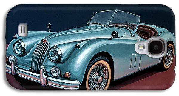 Jaguar Xk140 1954 Painting Galaxy S4 Case by Paul Meijering