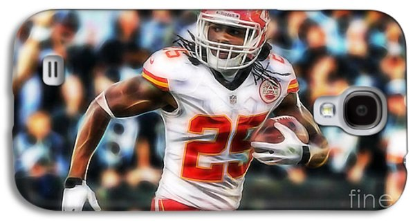 Jamaal Charles Collection Galaxy S4 Case by Marvin Blaine