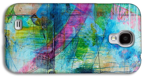 Abstract Movement Galaxy S4 Cases - Jamaica Galaxy S4 Case by Donna Stubbs