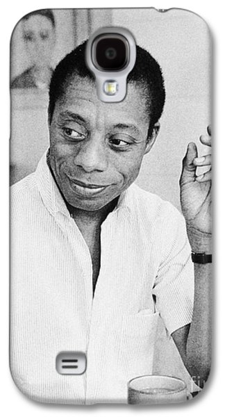 African-american Galaxy S4 Cases - James Baldwin (1924-1987) Galaxy S4 Case by Granger