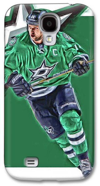 Jamie Benn Dallas Stars Oil Art Series 1 Galaxy S4 Case by Joe Hamilton