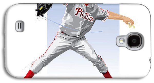 Jamie Moyer Galaxy S4 Case by Scott Weigner