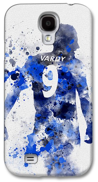 Jamie Vardy Galaxy S4 Case by Rebecca Jenkins