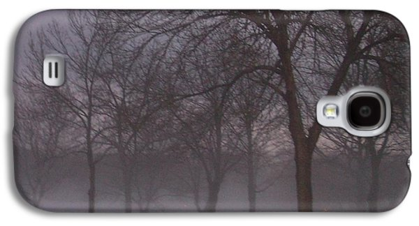 January Galaxy S4 Cases - January fog 4 Galaxy S4 Case by Anita Burgermeister
