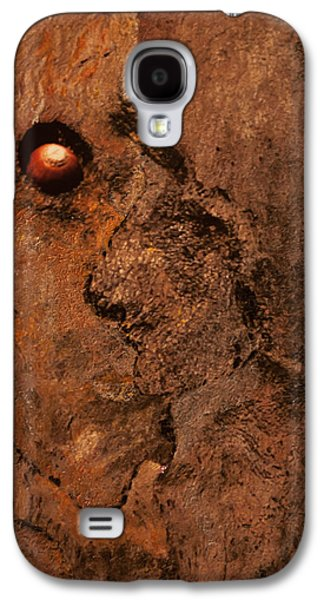 Impressionism Pyrography Galaxy S4 Cases - Janus Galaxy S4 Case by Artist Jacquemo