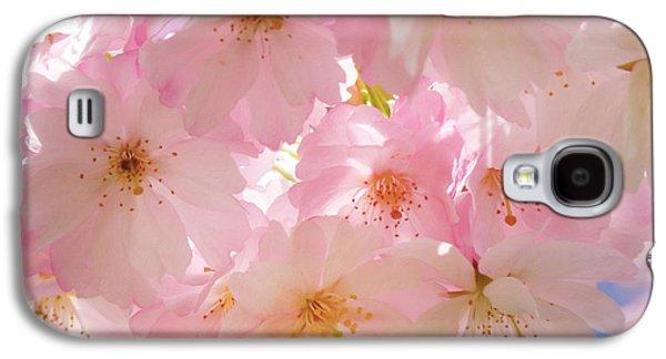 Japanese Cherry Blossom Beauty Galaxy S4 Case by Georgiana Romanovna