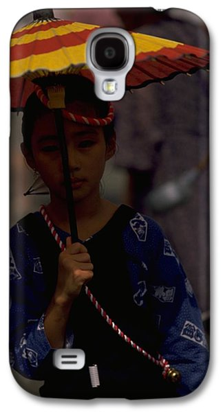 Galaxy S4 Case featuring the photograph Japanese Girl by Travel Pics