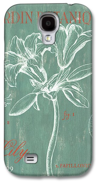 Pen And Ink Drawing Drawings Galaxy S4 Cases - Jardin Botanique Aqua Galaxy S4 Case by Debbie DeWitt