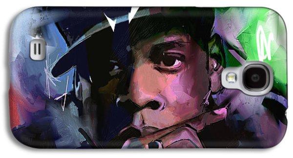 Jay Z Galaxy S4 Case by Richard Day