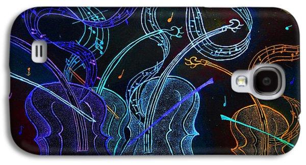 Jazz N Blues Galaxy S4 Case by Dwayne  Hamilton