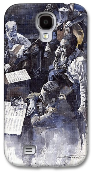 Jazz Parker Tristano Bauer Safransky Rca Studio Ny 1949 Galaxy S4 Case by Yuriy  Shevchuk