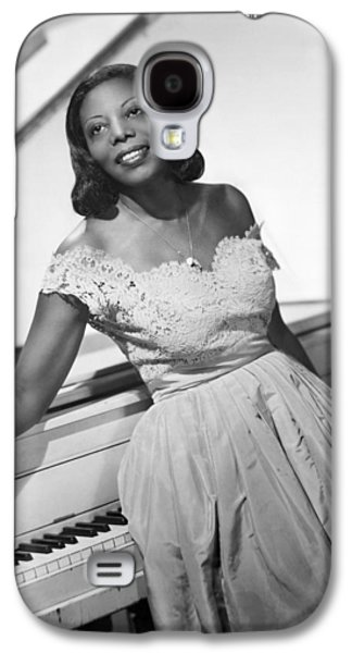 Jazz Pianist Mary Lou Williams Galaxy S4 Case by Underwood Archives