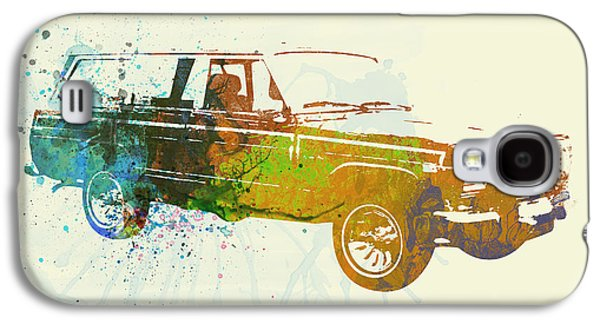 Classic Cars Photographs Galaxy S4 Cases - Jeep Wagoneer Galaxy S4 Case by Naxart Studio
