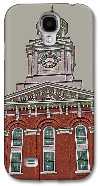 Recently Sold -  - Abstract Digital Photographs Galaxy S4 Cases - Jefferson County Courthouse Galaxy S4 Case by Jean Hall