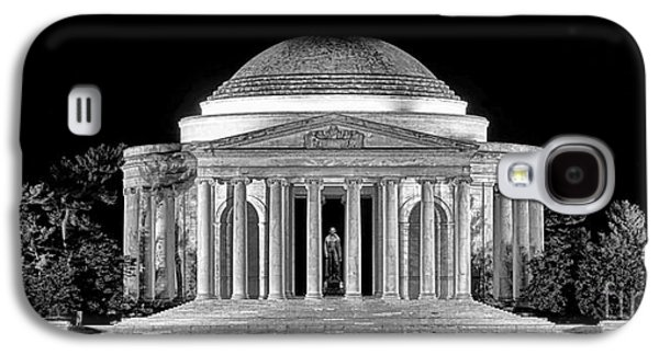 Jefferson Memorial Lonely Night Galaxy S4 Case by Olivier Le Queinec