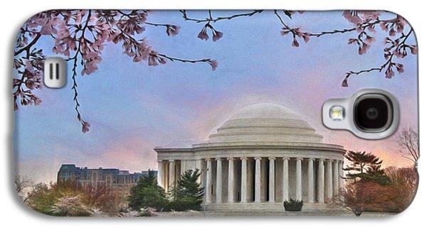 Jefferson Memorial Galaxy S4 Case by Lori Deiter