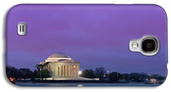 Morning Photographs Galaxy S4 Cases - Jefferson Monument Galaxy S4 Case by Sebastian Musial