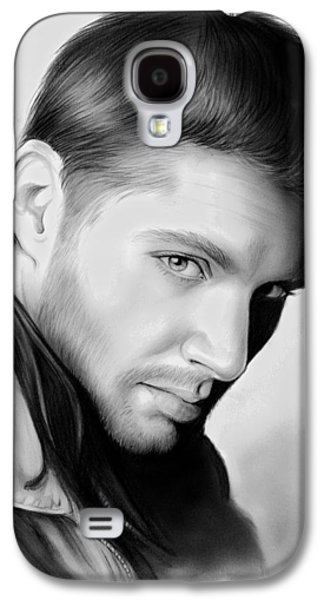 Jensen Ackles Galaxy S4 Case by Greg Joens