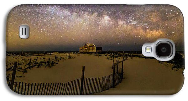Jersey Shore Starry Skies And Milky Way Galaxy S4 Case by Susan Candelario