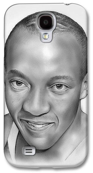 Jesse Owens Galaxy S4 Case by Greg Joens