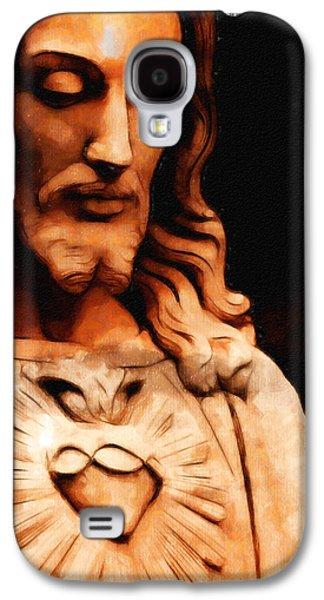 Incarnation Galaxy S4 Cases - Jesus Christ Galaxy S4 Case by Arun Sivaprasad