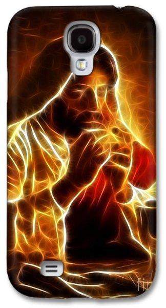 Last Supper Galaxy S4 Cases - Jesus Christ Last Supper Galaxy S4 Case by Pamela Johnson