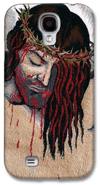 Jesus Tapestries - Textiles Galaxy S4 Cases - Jesus Christ Galaxy S4 Case by Mimoza Xhaferi