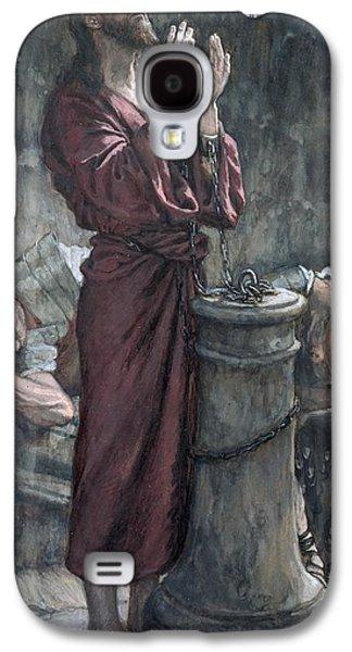 Jesus In Prison Galaxy S4 Case by Tissot