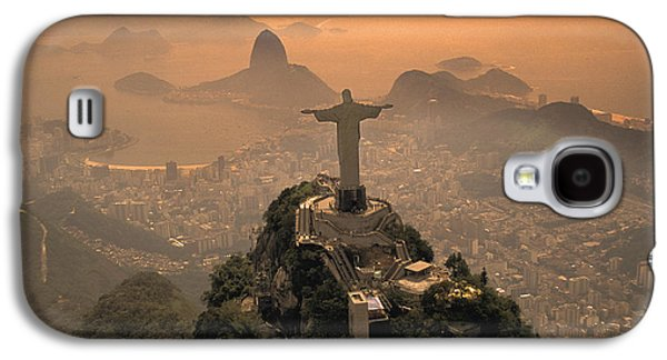 Jesus Christ Galaxy S4 Cases - Jesus in Rio Galaxy S4 Case by Christian Heeb