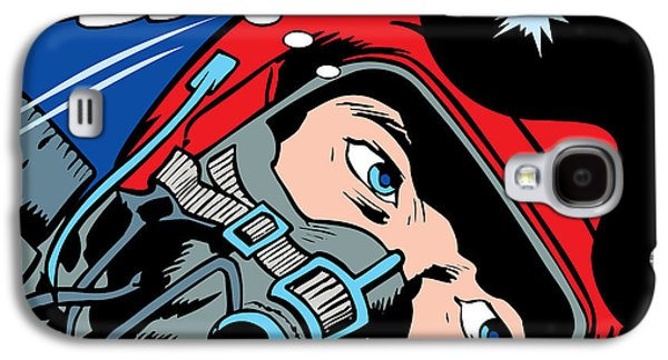 Recently Sold -  - Dogs Digital Galaxy S4 Cases - Jet Pilot Galaxy S4 Case by Gary Grayson