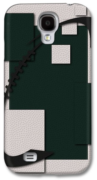 New York Jets Galaxy S4 Cases - Jets Football Art Galaxy S4 Case by Joe Hamilton