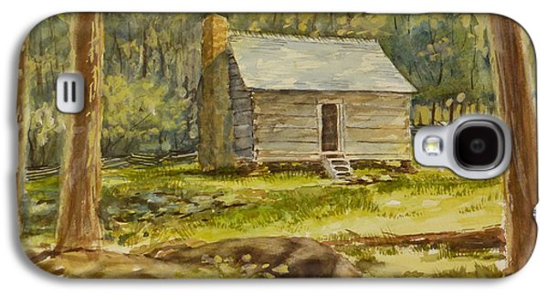 Jim Bales' Cabin Galaxy S4 Case by Carl Whitten
