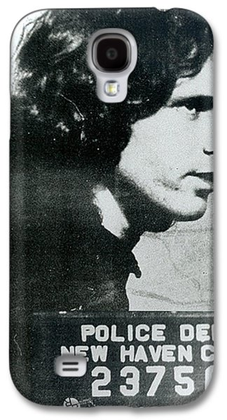 Police Paintings Galaxy S4 Cases - Jim Morrison Mug Shot Profile Vertical Galaxy S4 Case by Tony Rubino