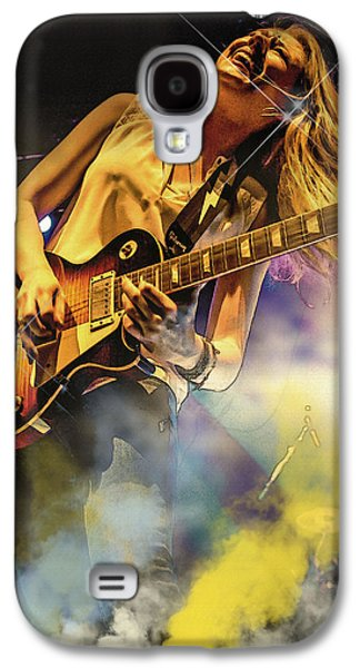 Beatles Galaxy S4 Cases - Joanne Shaw Taylor Galaxy S4 Case by Don Kuing
