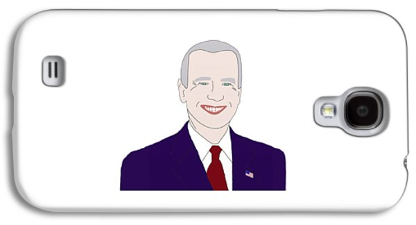 Joe Biden Galaxy S4 Cases - Joe Biden Galaxy S4 Case by Priscilla Wolfe