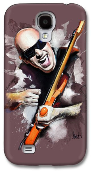 Joe Satriani Galaxy S4 Case by Melanie D