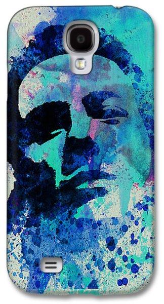 British Paintings Galaxy S4 Cases - Joe Strummer Galaxy S4 Case by Naxart Studio