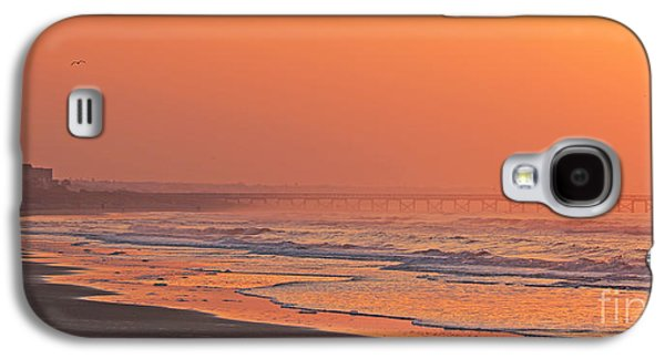 Jogging Galaxy S4 Cases - Jogger at Sunrise  3286 Galaxy S4 Case by Jack Schultz