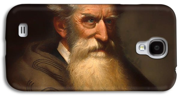 Abolition Paintings Galaxy S4 Cases - John Brown Galaxy S4 Case by Ole Peter Hansen Balling