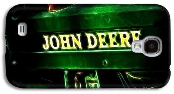 Machinery Galaxy S4 Cases - John Deere 2 Galaxy S4 Case by Cheryl Young